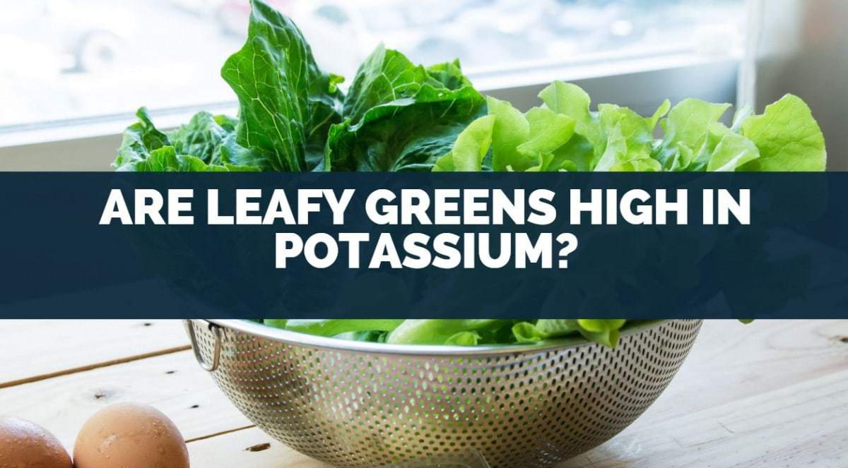 are leafy greens high in potassium