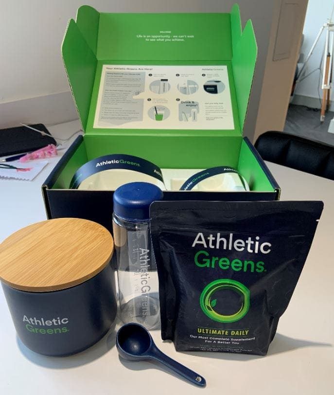 Athletic Greens is a dietary supplement