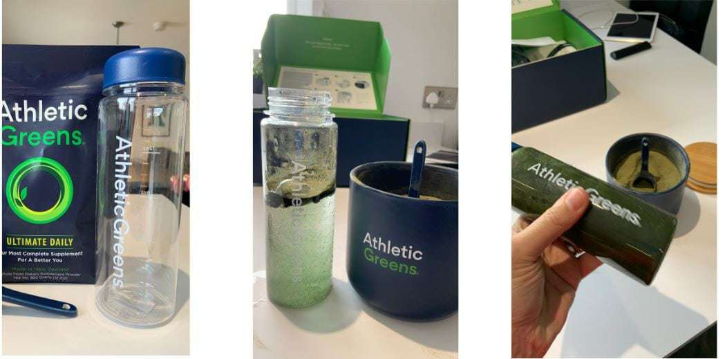 How To Drink Athletic Greens