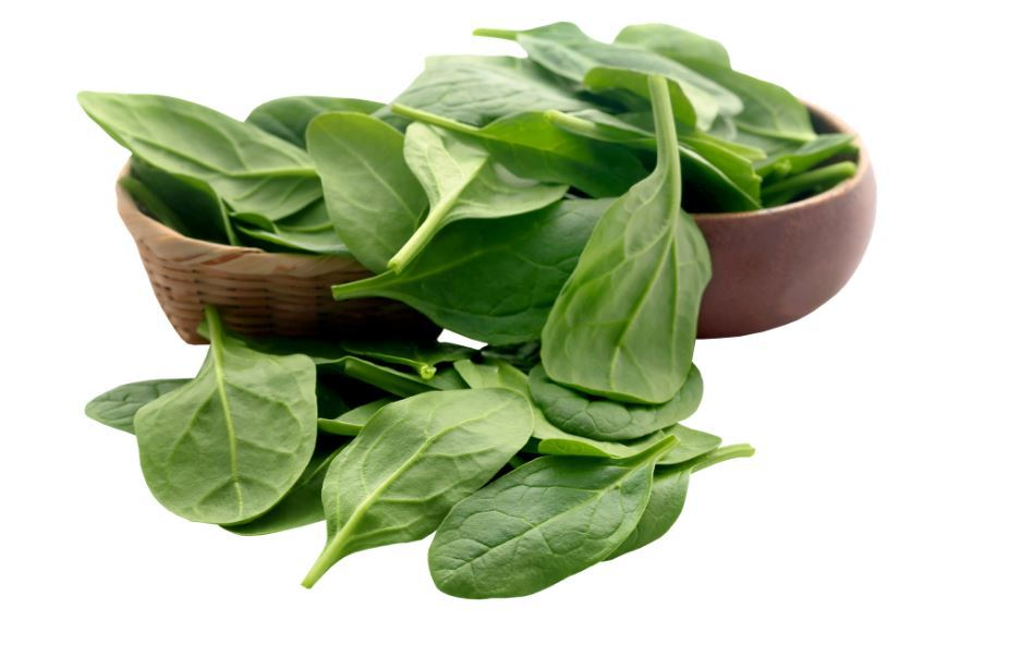How much calcium does spinach have