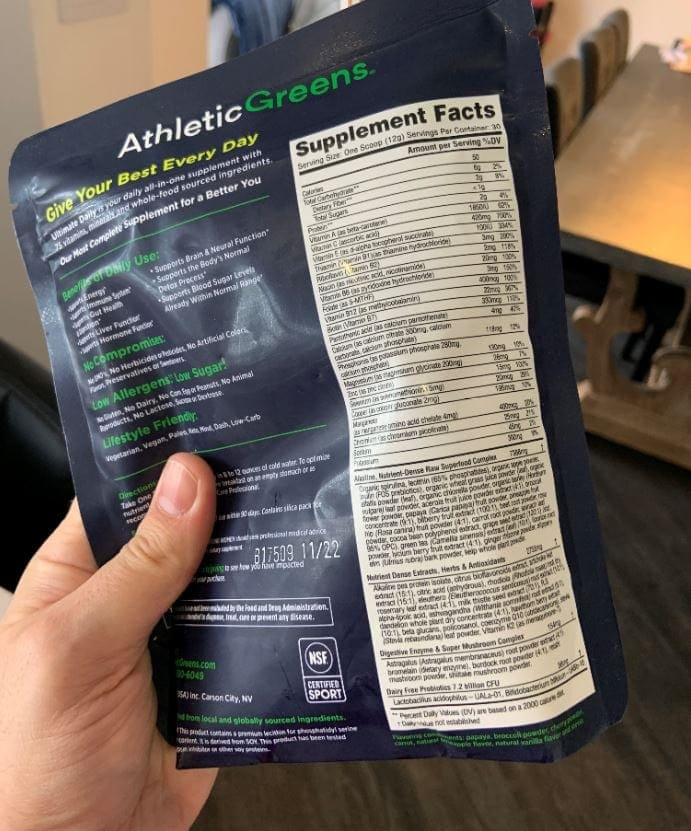 What Does Athletic Greens Help You With