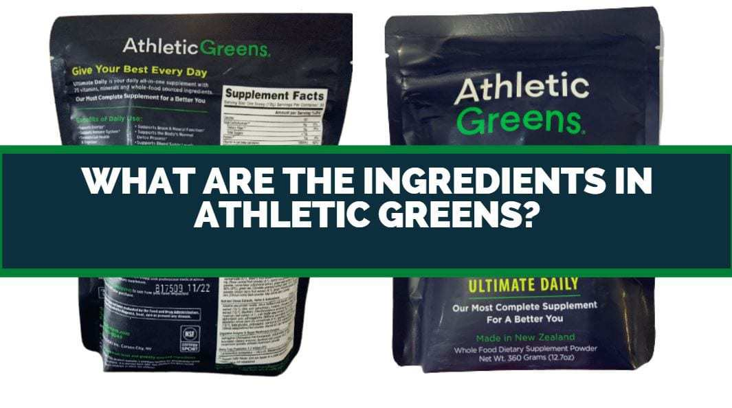 what are the ingredients in athletic greens